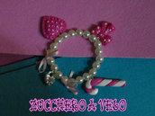 braccialetto con charms in fimo