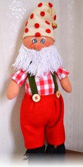 Babbo Natale di pannolenci