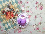 necklace alice in wonderland,Cheshire Cat