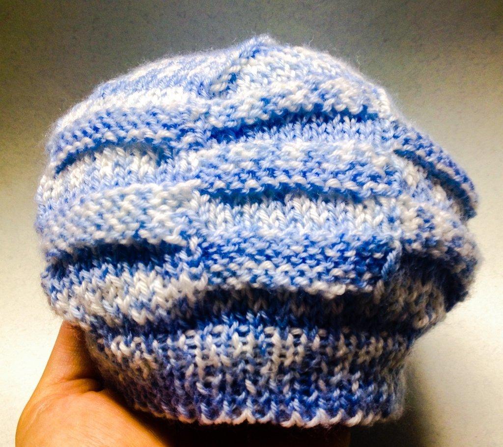 Morbido cappellino da maschietto