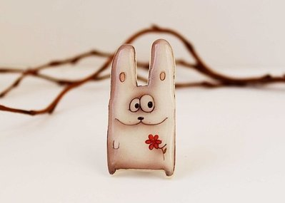 Spilla coniglio