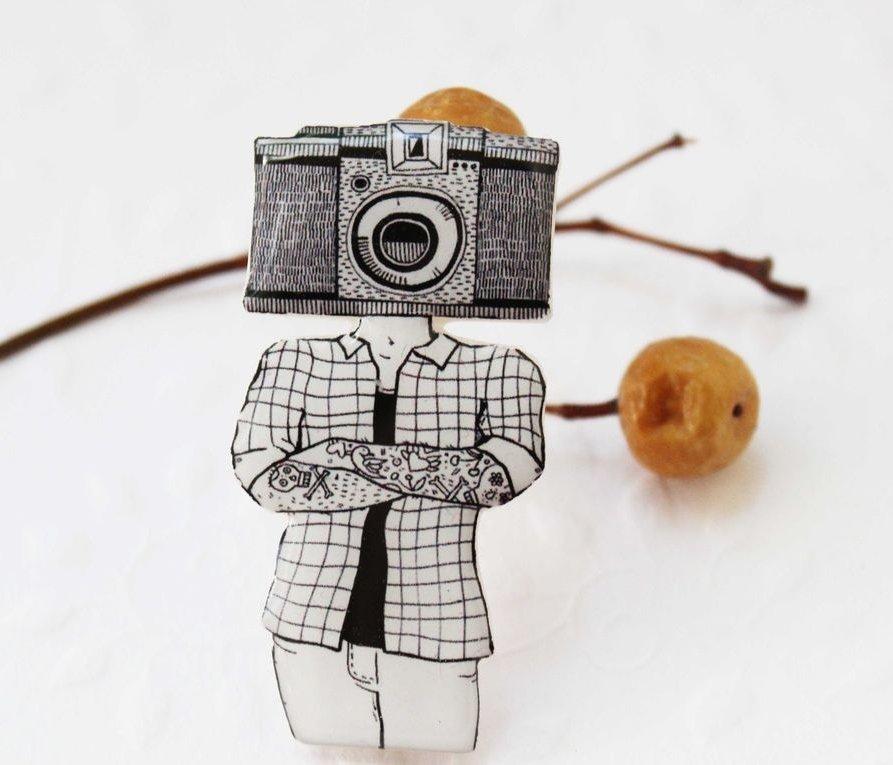 spilla Fotografo