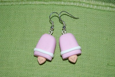 Orecchini Ghiaccioli rosa