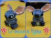ciondolo stitch in fimo