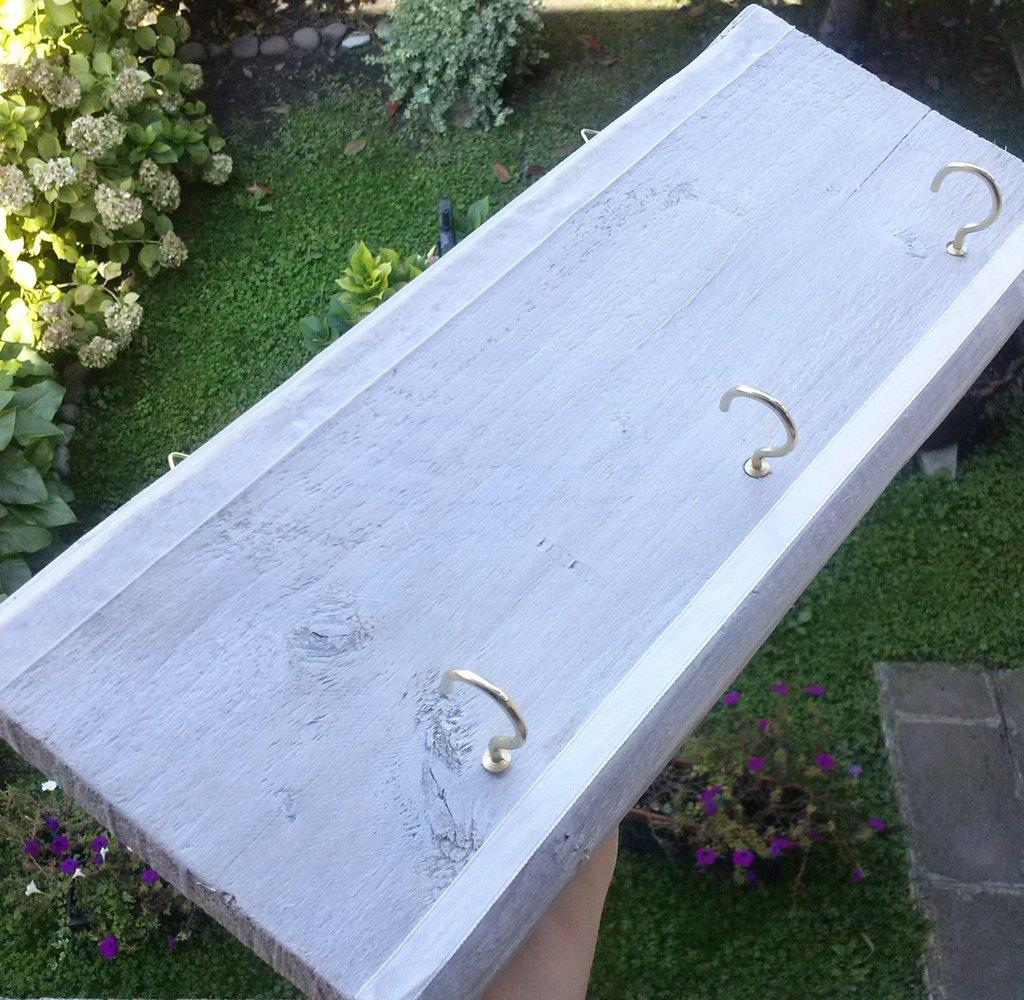 Portagioie o portachiavi in legno da appendere