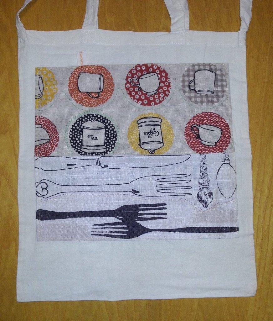 Chez moi - borsa shopping tote bag - pezzo unico