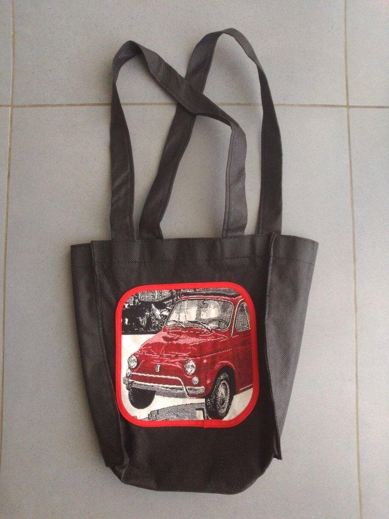 BENTO 500 - borsa shopping tote bag bento lunch bag portapranzo - pezzo unico