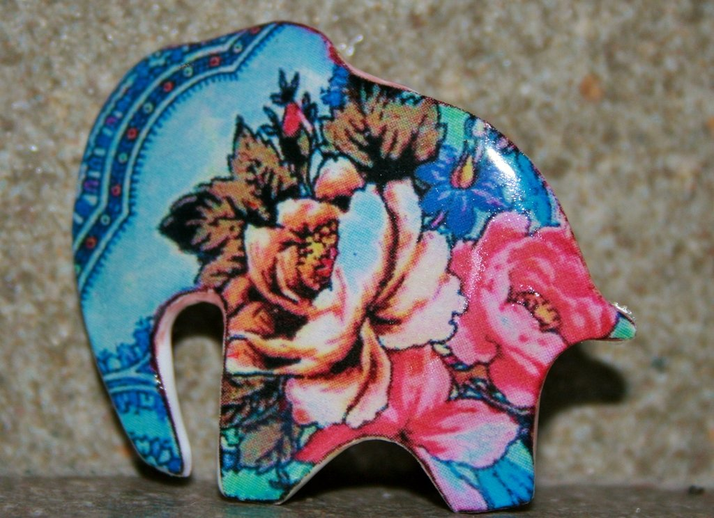 Spilla elefante