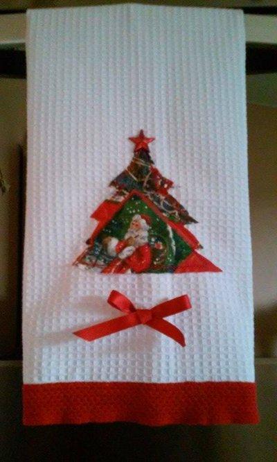 Copriforno natalizio decorativo