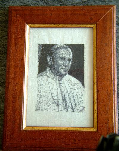 Quadro: Papa Giovanni Paolo II