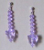 Orecchini Violet Argento 925 & Swarovski