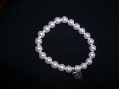 Bracciale perle swarovski rose