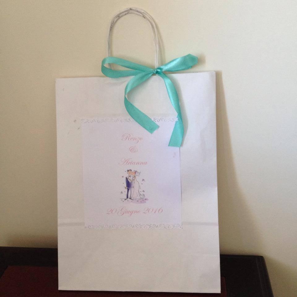 wedding bag personalizzabile