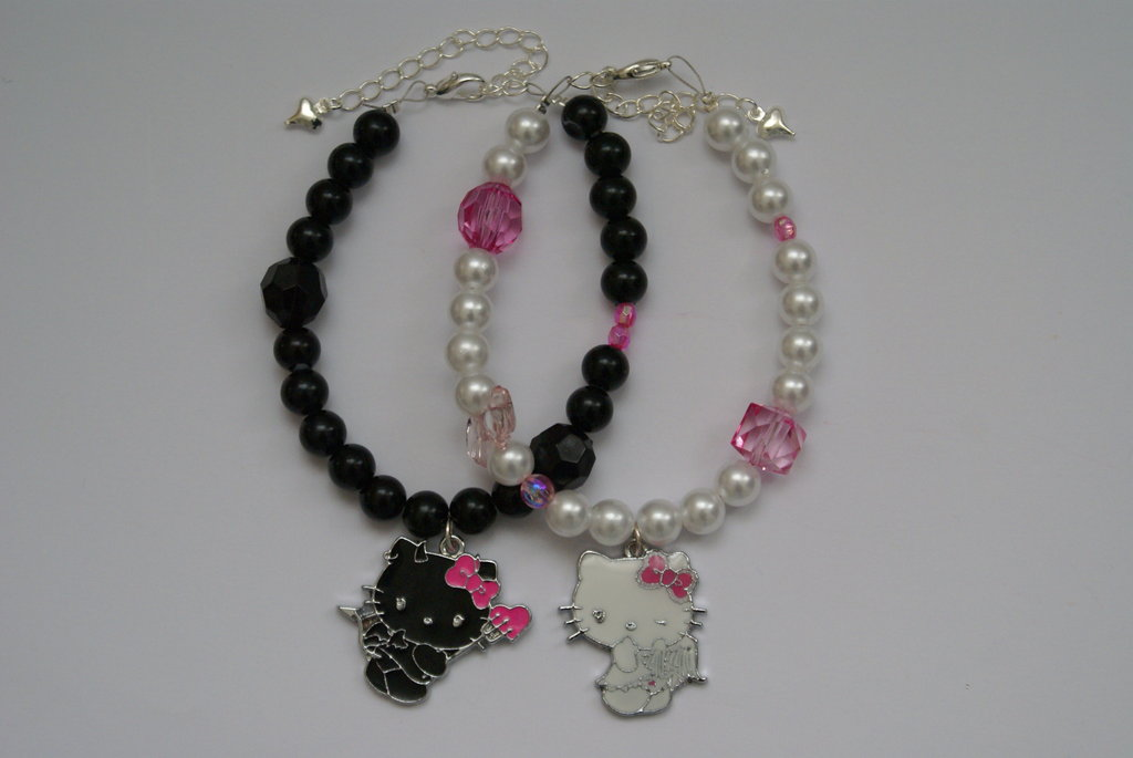 Bracciali Hello Kitty Angel & Devil