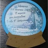 invito frozen (acquisto minimo 10 pezzi)