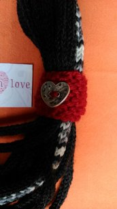 Collana scaldacollo in lana