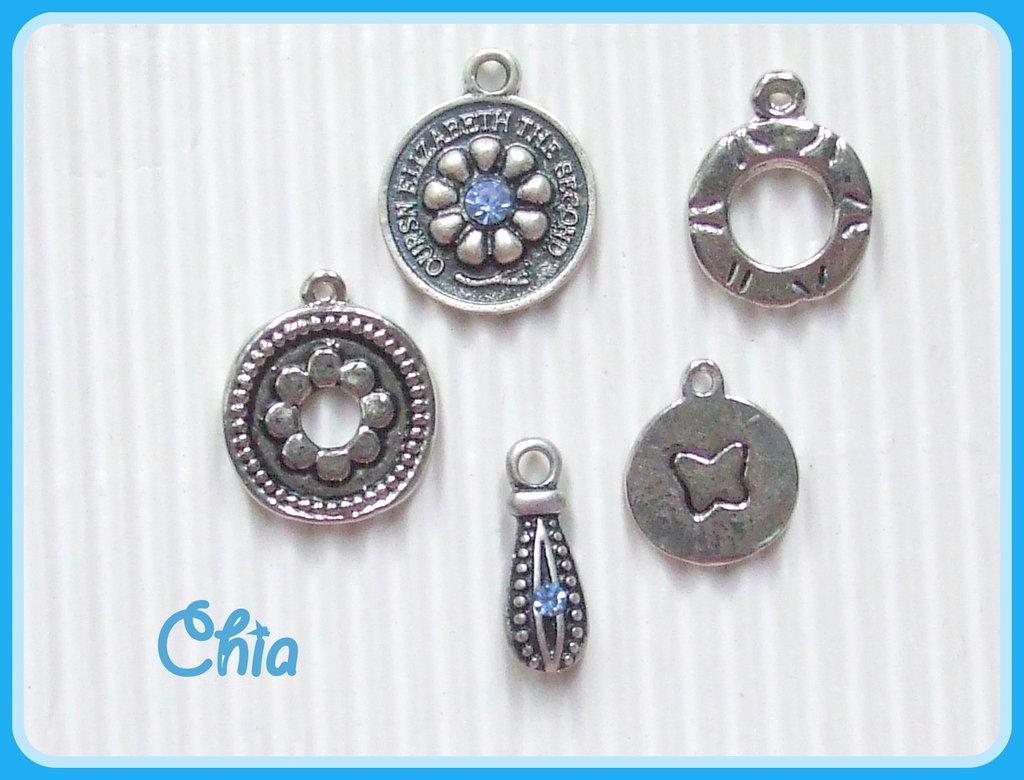 set 5 charms misti