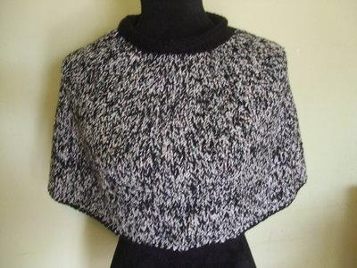 copri spalle scalda collo lana donna
