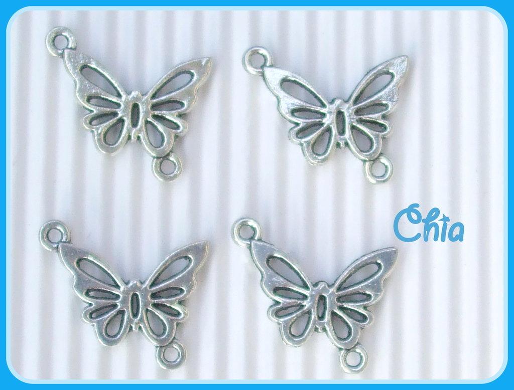 5 charms farfalla