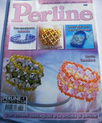 """3 riviste """" PERLINE"""""""