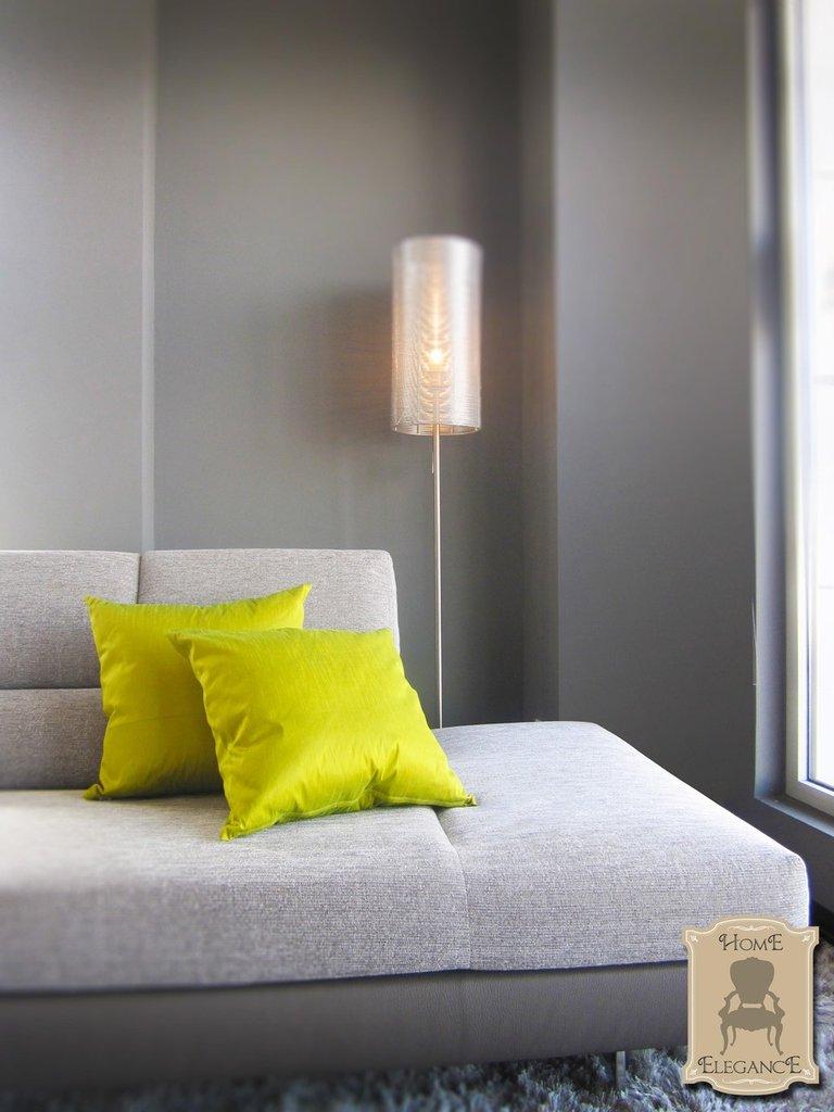 Green Lounge_set 2 cuscini artigianali
