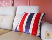 Glam Stripes_cuscino singolo artigianale