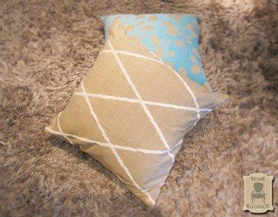 Rhombus_cuscino singolo artigianale