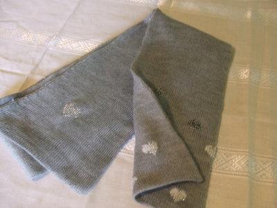 sciarpa scalda collo bimba lana maglia
