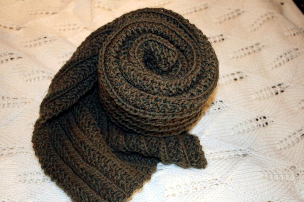 Sciarpa in lana unisex