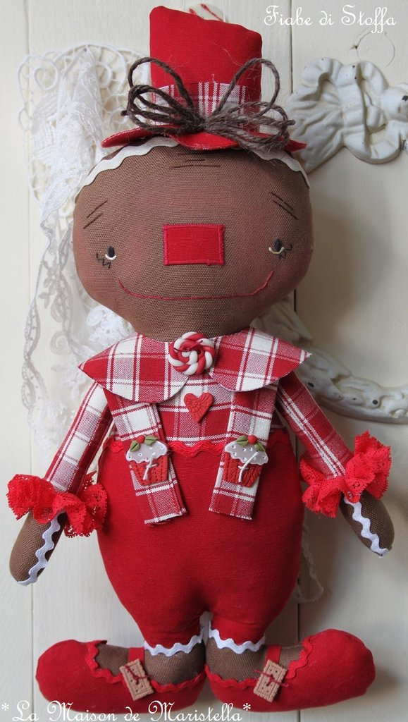 "GINGERBREAD DOLL ""FIOR DI BISCOTTO"""