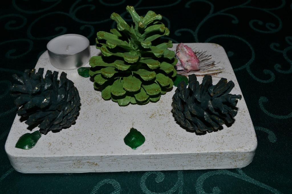 Centro tavola per Natale