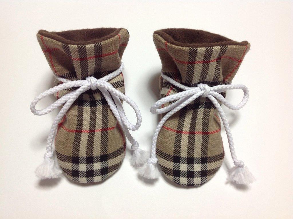 Babbucce pura lana e pile - Bambini 0-6 mesi