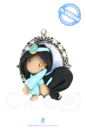 Princess Cammeo Jasmine by CREO | PolymerClay
