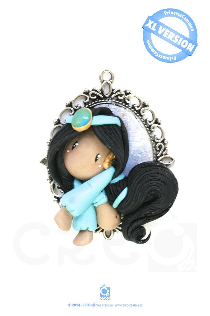 Princess Cammeo Jasmine by CREO | PolymerClay