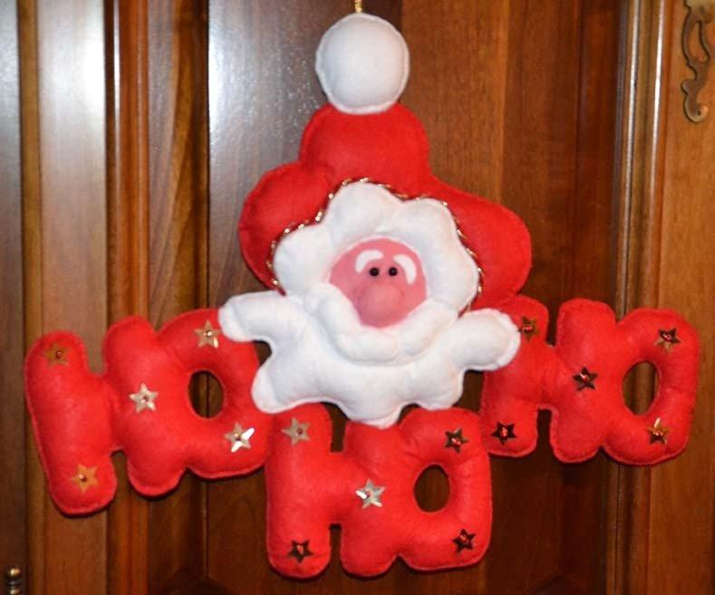 Fuori porta Babbo Natale HOHOHO