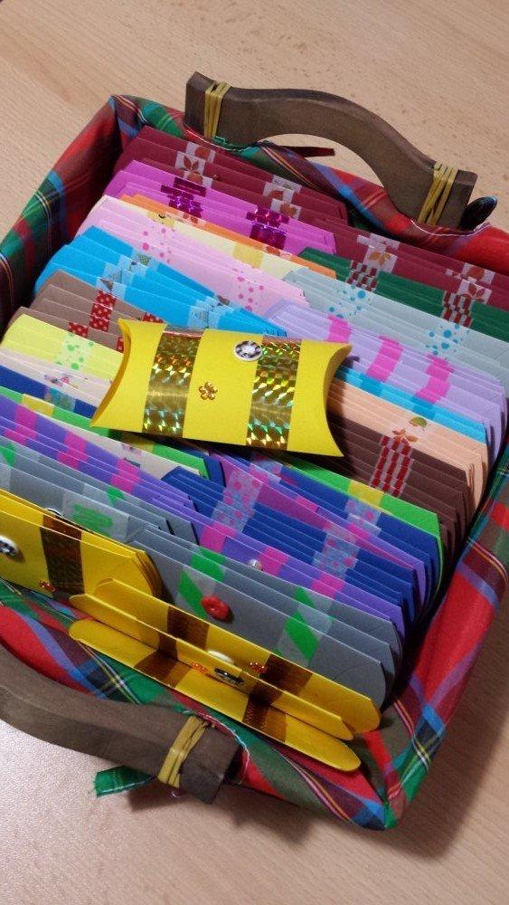 SPEDIZIONE GRATUITA! Scatolina in cartoncino - Pillow Box