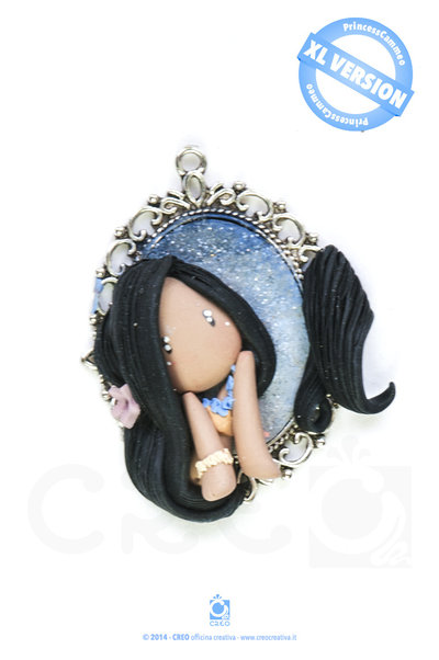 Princess Cammeo Pocahontas by CREO   PolymerClay