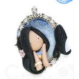 Princess Cammeo Pocahontas by CREO | PolymerClay