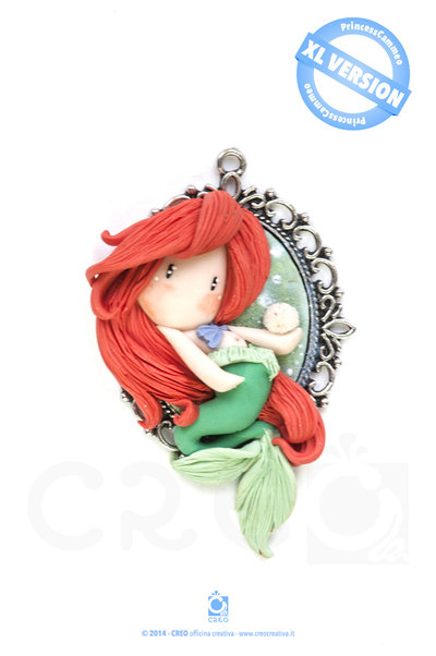 Princess Cameo Ariel by CREO | PolymerClay