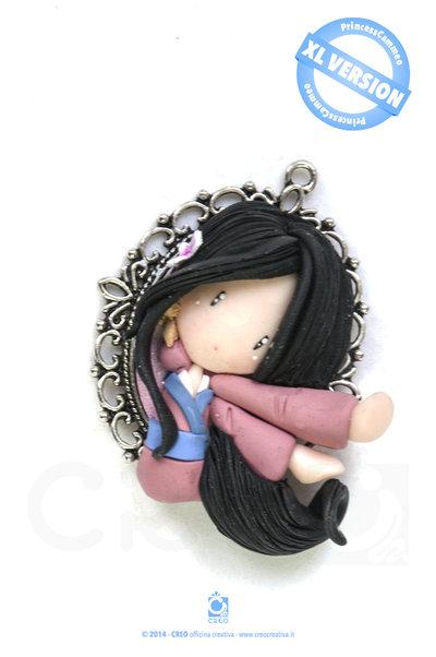 Princess Cameo Mulan by CREO | PolymerClay