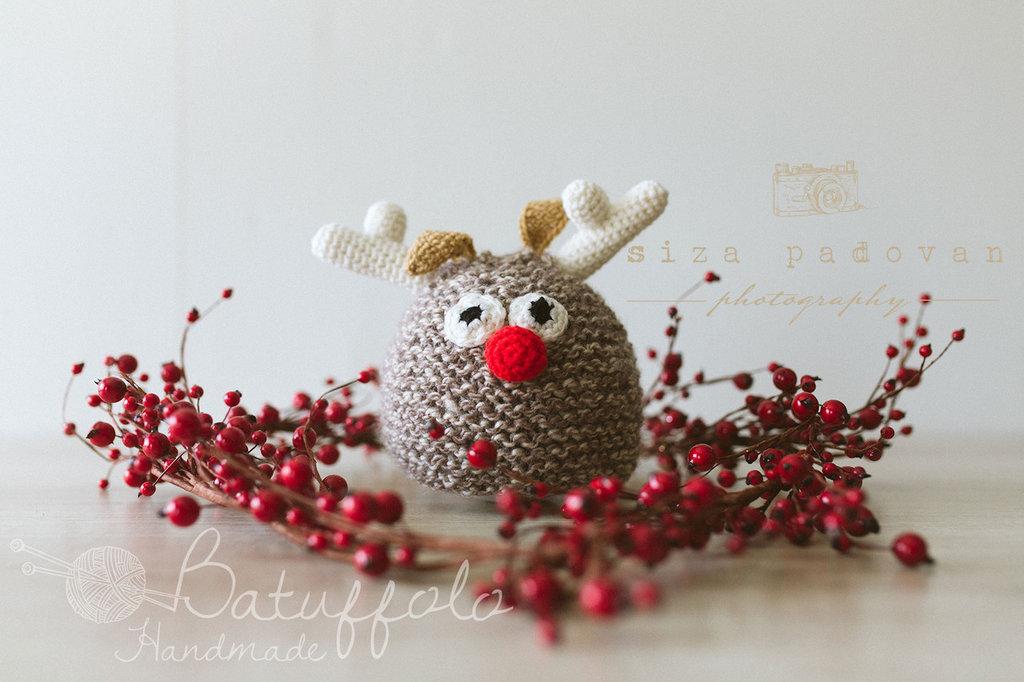 Capellino con Rudolph - Idea Natale