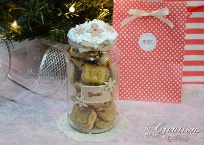 Barattolo di Natale per Biscotti