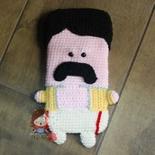 Cover  iphone 6 uncinetto amigurumi Freddie Mercury