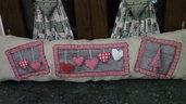 cuscino natalizio creato a mano