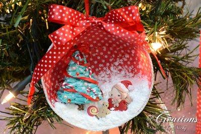 Decorazione di Natale con Miniature