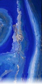 Quadro ad olio ANGELO NITAHIAH- creato meditando sul Delfino