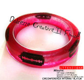 Bracciale Bangle Cutter Lamette Sangue horror goth emo dark CONTROLLARE MISURE