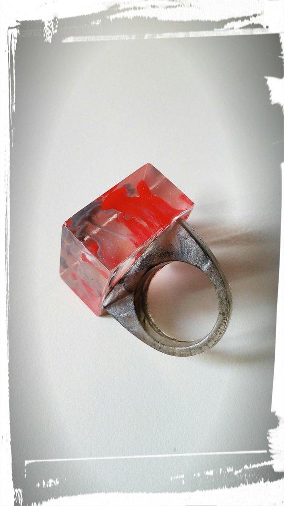 anello in resina