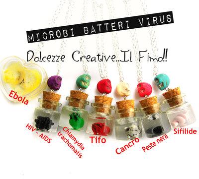 Collana Malattie Microbi Batteri Virus - Tifo
