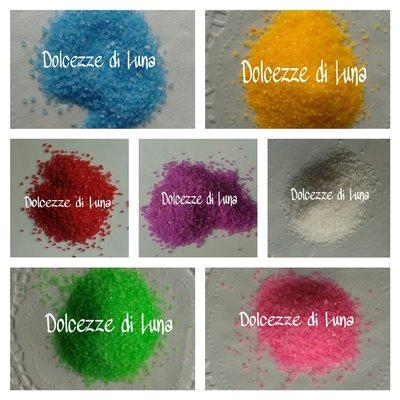 20 grammi granella colorata per miniature e creazioni in fimo